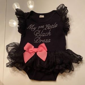 """Other - 0-6 Month """"My 1st Little Black Dress"""""""
